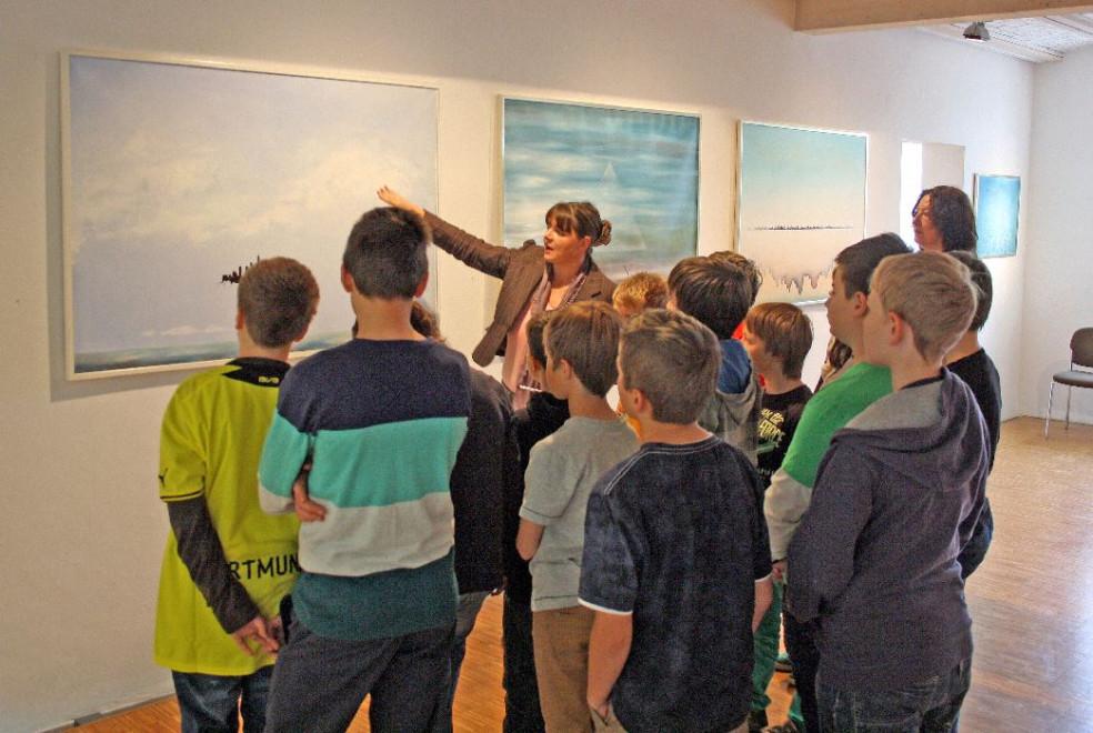 Im Kunstmuseum mit Kindern