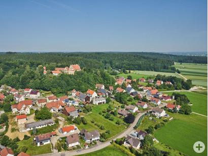 Blick auf Osterberg.