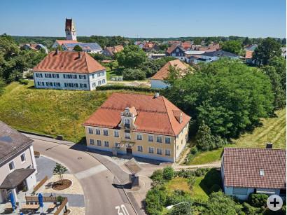 Blick auf das Mueseum für bildende Kunst in Oberfahlheim-Nersingen.