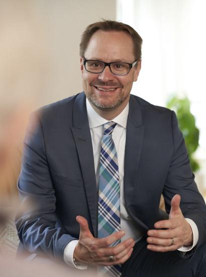 Landrat Thorsten Freudenberger