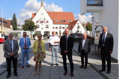 Geehrte Kommunale Verdienstmedaille in Bronze Vöhringen